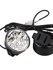 auto denní svícení (2 ks, 4 LED, bílé světlo, vodotěsné)