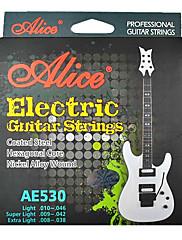 alice - (ae530-xl) potažené ocelové struny elektrické kytary