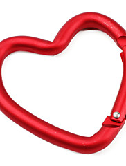Heart Shaped Carabiner (Red)