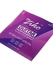 Ziko - high-grade fosforu bronzové struny akustická kytara (012-053)