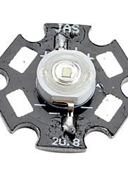 epistar 460-470nm 3W 20-30lm 700mah plava LED žarulja s aluminijske ploče (3.4-3.8V)