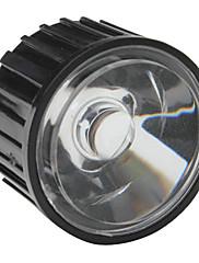 20mm 60 ° optičko staklo objektiv s okvirom za baterijske svjetiljke, spot svjetla