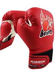 ボクシンググローブ ボクシング・サンドバッグ用グローブ ボクシング・練習用グローブ グラップリンググローブ のために ボクシング 総合格闘技(MMA) フルフィンガー ロブスター爪手袋 高通気性 耐摩耗性 保護 PU レッド ブルー