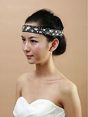 svatební tkanina s Čelenky akryl žen