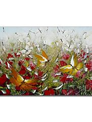 手塗りの油絵動物1211-AN0044