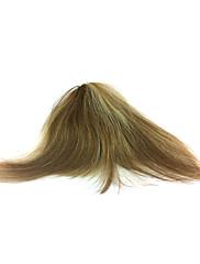 手結ばれた100%の人間の毛髪の前髪のヘアピース