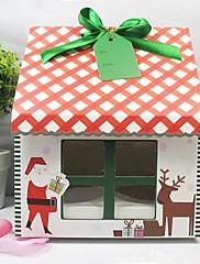 メリークリスマスケーキボックス(12個セット)