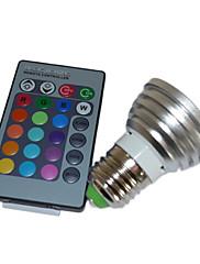 リモコンで5ワットマルチカラーLED電球(4パック)
