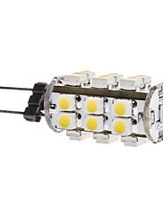 1.5W G4 LEDコーン型電球 T 28 SMD 3528 140 lm 温白色 DC 12 V