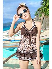 dámská móda ohlávka tisk polstrovaná Kostice plavky