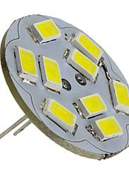 4W G4 LED bodovky 9 SMD 5730 430 lm Přirozená bílá DC 12 V