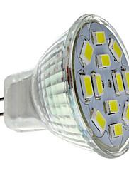 6W GU4(MR11) LED bodovky MR11 12 SMD 5730 570 lm Přirozená bílá DC 12 V
