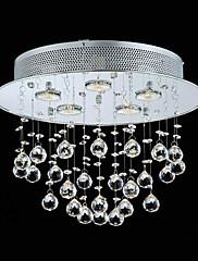 60waty krystal korálky moderní zapuštěnými s 5 světel paticí GU10