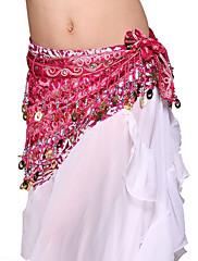 výkon dancewear tyl s flitry pásem břišního tance pro ženy více barev