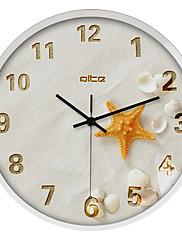 """12 """"h moderní hvězdice z nerezové oceli nástěnné hodiny"""