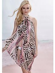 Pink Leopard Zebra Sarong (Délka: 150cm Šířka: 105CM)