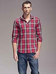 Obchodní Pánské Red Check Shirt
