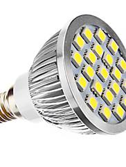 3W E14 LED bodovky MR16 21 SMD 5050 240 lm Přirozená bílá AC 220-240 / AC 110-130 V