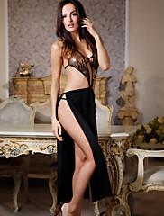Módní elegantní černé šaty flitry