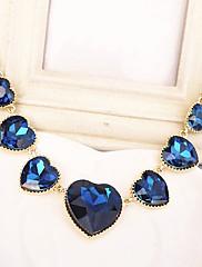 Srdce ženské krásy tvar náhrdelník