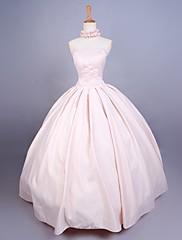 Jednodílné/Šaty Sweet Lolita Princeznovské Cosplay Lolita šaty Jednobarevné Bez rukávů Long Length Šaty Pro Satén