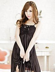 セクシーな黒Strapedランジェリードレス