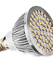 E14 LED bodovky MR16 60 SMD 3528 240 lm Teplá bílá AC 110-130 AC 220-240 V