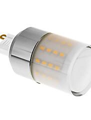 G9 4-5W 50x3014SMD 300-350LM 3000K teplá bílá LED žárovka Corn (110-240V)