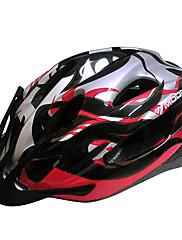 MOONサイクリングPC +ブラック+グレー一つは、自転車/バイクヘルメットフォーミング21通気口をEPS