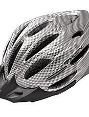 満月サイクリングPVC + EPS 22ベントスーパーライトグレー自転車/バイクヘルメット