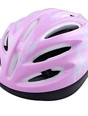 MOONキッズピンクの蝶のPC保護スケート/サイクリングヘルメット