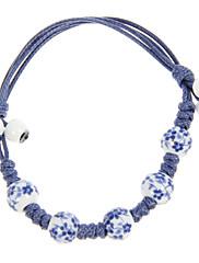 Vintage lano modré akryláty Dámský náramek
