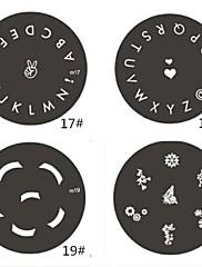 100ks bílé smíšené velikosti nehtů tip vede francouzské tipy vodítka falešné tipy akrylové
