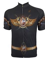 Getmoving ® Pánské Full Length Zip Short Sleeve cyklistický dres