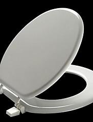 Legno Milano ® Universal rotondo bianco Modellato Legno Toilet Seat