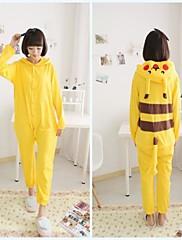 dospělý yellow pikachu bavlněné pyžamo kigurumi zvířat spaní pro jaro&podzim