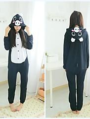 dospělých černými prase bavlněné pyžamo kigurumi zvířat spaní pro jaro&podzim