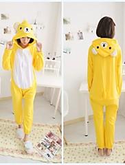 dospělý žluté Rilakkuma bavlněné pyžamo kigurumi zvířat spaní pro jaro&podzim