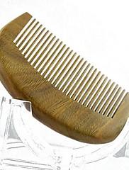 高品質の9x5.5cm白檀木製櫛の健康コーム