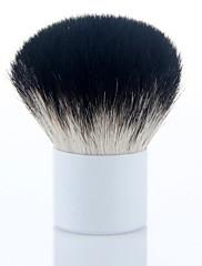 vysoce kvalitní kozí srst make-up kabuki prášek kartáč