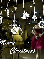 Wall Stickers Wall Decals, Christmas Home Decor PVC Wall Stickers