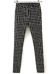 Iced ™ dámská dlouhý módní ležérní kalhoty