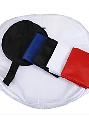 """POPLAR Photography Light Tents - 31"""" Inch 80cm Photo Softbox Light Tents with 4 Backdrops"""
