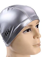 Youyou unisex vysoce kvalitní pu vodotěsný protiskluzová ochrana vlasů ochrana uší nositelné koupací čepice