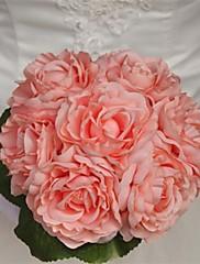 ramos de novia elegante de la boda flores redondas de forma (más colores)