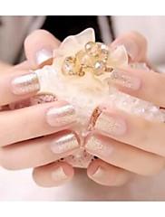 24pc třpytky barevné nehty výtvarné tipy no.191