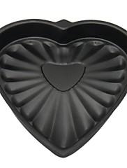 ケーキパン用耐熱皿に高品質の炭素鋼のハート型のベーキング金型