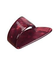 10psc /ロット大型シェル親指はセルロイドプラスチックthumbpicksのplectrumsにアコースティックギターをピックアップ