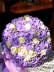 Très beau bouquet de rose mauves et blanches