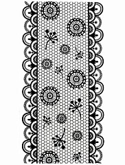 カートゥン/抽象画/かわいい/パンク/結婚式 - フィンガー/指スタイル/その他 - 3Dネイルシール - 17.5*7.5cm CM